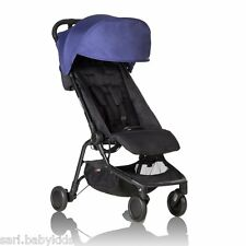 Poussette Mountain Buggy Nano Nautical 2016 - passe en bagage à main en avion