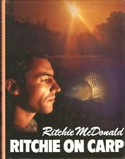 Rare 1st Edition -  Ritchie on Carp 1989 by Ritchie McDonald