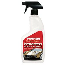 New Mothers 05644 Waterless Wash & Wax - 24 oz. Free Shipping