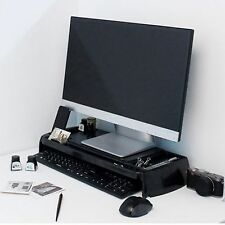 LED LCD Monitor Stand Cradle Desk organizer Office various storages Computer