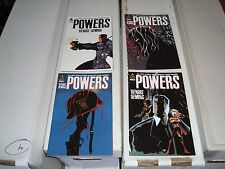 Powers #1-4 Marvel / Icon Comic Book Lot / Run NM Condition 2010 War Comics