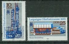 DDR Briefmarken 1981 Leipziger Messe Mi.Nr.2634-2635**