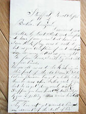 CIVIL WAR LETTER TO NEW HAMPSHIRE SOLDIER THANKSGIVING 1862