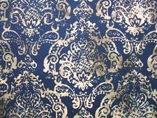 Damask Pineapple Antique Black Hoffman Bali Chop Batik Fabric Yard