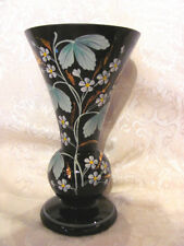 Antique English Amethyst Bristol Glass Vase Circa 1860
