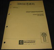 Werkstatthandbuch Peugeot Boxer Typ 230 Schaltgetriebe Typ ML5TU 11/1998