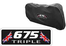 Triumph 675 Street triple Motorcycle Bike Dust cover Indoor Breathable