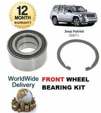 FOR JEEP PATRIOT 2.0DT 2.2DT 2.4i 9/2006  NEW FRONT WHEEL BEARING KIT