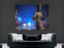 BRUCE LEE STATUE HONG KONG  WALL POSTER ART PICTURE PRINT LARGE HUGE