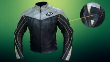 Buell motorcycle racing leather jacket with armor / men buell motorbike jacket