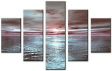 5 Panel Total Size 115x80cm Large Canvas Wall Digital Art TENE