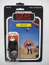 Vintage STAR WARS HEAD MAN UZAY SAVASCILARI CUSTOM BOOTLEG MOC