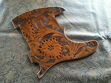Hand Tooled Custom Leather Pickguard fits Fender Telecaster Tele Esquire