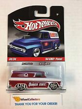 '64 GMC Panel Quaker State * RED/White * Delivery Garage Hot Wheels * M10
