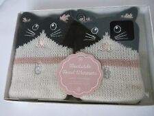 AROMA HOME CLICK & HEAT CAT HAND  WARMERS ( Reusable Gel Packs)