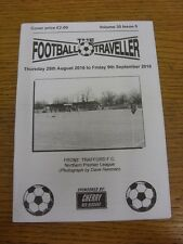 25/08/2016 The Football Traveller Magazine: Volume 30 Issue 05 - Trafford (cover
