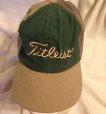 RARE TITLEIST VINTAGE UNION MADE  GOLF HAT CAP COLOR BLOCK