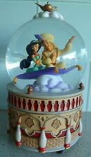 "DisneyStore Snow Globe:  Disney's ALADDIN:  Plays ""A Whole New World"""