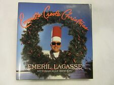 Emeril's Creole Christmas by Emeril Lagasse (1997, Hardcover) CAJUN NEW ORLEANS