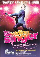 WEDDING SINGER THE MUSICAL LIVERPOOL EMPIRE PROMO FLYER BUY 2 GET 1 FREE