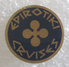 Vintage Epirotiki Cruises Travel Souvenir Collector Pin-Greek Cruise Line