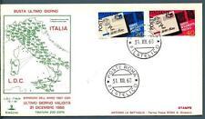 ITALIA REP. - 1967 - Adozione del codice di avviam. postale - ultimo giorno val.