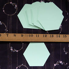 "2"" Hexagon Templates - English Paper Piecing Quilting / Patchwork  x 50 pieces"