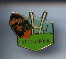 RARE PINS PIN'S .. SPORT RUGBY CLUB MOUSQUETAIRE EPEE INTERMARCHE LOT G. 47 ~W1