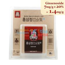 KGC Korean Red Ginseng Extract 100 Capsules Ginsenoside 1.4mg/g Boost Sex Drive