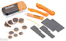 New IceToolz 65A1 Bicycle Tyre Puncture Repair kit For Bike Cycling Tire Tools