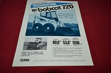 Bobcat 720 Skid Steer Loader Dealer's Brochure DCPA4 ver3