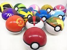 13PCS/Set Pokemon Pokeball Cosplay Pop-up Master Great Ultra GS poke BALL Toy