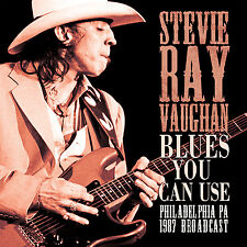 STEVIE RAY VAUGHAN New 2017 UNRELEASED PHILADELPHIA 1987 LIVE CONCERT CD