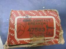 NOS Lucas Contact Breaker / Point Plate Early Twins # 47583 Triumph BSA   LU98