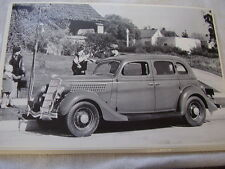 1935 FORD  4DR SEDAN  12 X 18  LARGE PICTURE  PHOTO