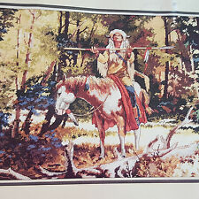 Sealed Dimensions Noble Quest Counted Cross Stitch Kit OOP Schaare Western Horse