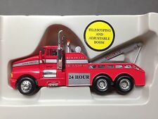 HO 1/87 Model Power # 30003 KW T-660 Tandem Axle Wrecker - Red/Red Devil Towing