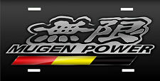 MUGEN power Fits Honda Acura license plate Japanese style novelty license plate
