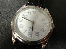 Great looking quartz watch runs perfect leather band great shape, Sharp!