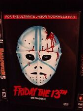 Friday the 13th Megadisk DVD Compilation Jason Voorhees slasher Alice Cooper