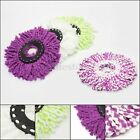 Mop Heads Microfiber Replacement Refill 360° Spin Rotating Household Cleaning
