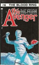 The Avenger #6: THE BLOOD RING by Kenneth Robeson (Creator of Doc Savage)