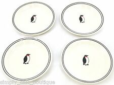 Sur La Table The Art Of Cooking Penquin WINE & CHEESE APPETIZER PLATES set of 4