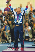 CHRIS HOY HAND SIGNED LONDON 2012 OLYMPICS 12X8 PHOTO GREAT BRITAIN 2.