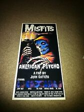 Misfits Michale Graves Doyle Poster American Psycho Danzig Ramones Jerry Only
