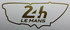 Le mans 24hr 2016-gold-graphiques, vinyle sticker, autocollants course piste
