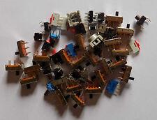"""Lot divers interrupteur à glissière """"2 et 3 position"""" et poussoir"""