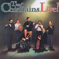 Chieftains Live! The Chieftains (CD, Shanachie Records) HARD TO FIND NO BARCODE