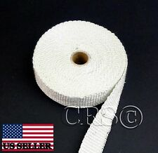 FIBERGLASS MOTORCYCLE EXHAUST HOT PIPE WRAP TAPE THERMO LEG PROTECTION MUFFLER