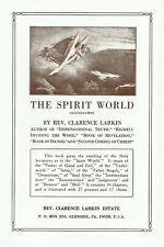 THE SPIRIT WORLD by Clarence Larkin - Original 1921 Hardcover Edition